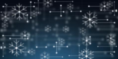 Winter / Digital / Code / Network / Design