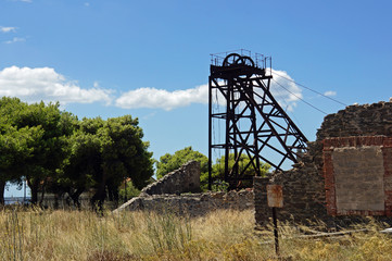 Griechenland Bergbau