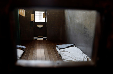 A general view of a cell at the Memorial of the Resistance of Sao Paulo, a former political prison in Sao Paulo