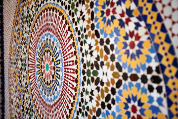 Moroccan mosaic, south of Morocco