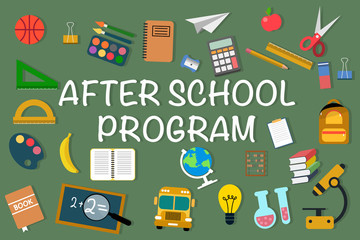 Vector picture for After School Program