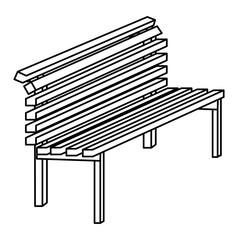 Park bench design