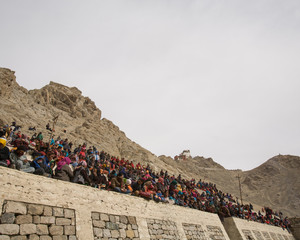 People at the Dosmoche festival