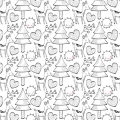 Animal pattern background