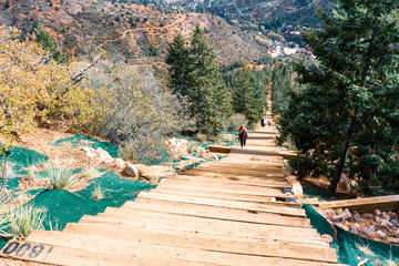 Wall Mural - Manitou incline
