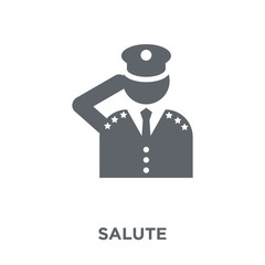 Salute icon from Army collection.
