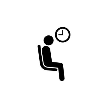 seating place of waitingplace for drunk. Element of priority seating area in transport icon for mobile concept and web apps. Detailed place of waiting icon