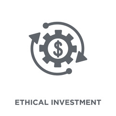 Ethical investment icon from Ethical investment collection.