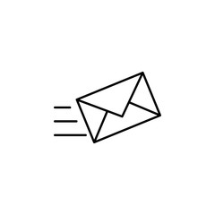 mailing icon. Element of simple web icon. Thin line icon for website design and development, app development. Premium icon