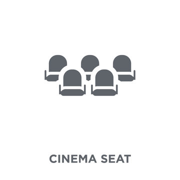 Cinema seat icon from Entertainment collection.
