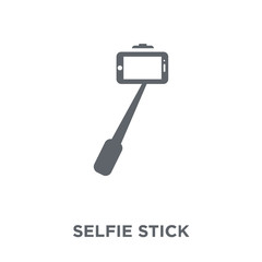 Selfie stick icon from Entertainment collection.