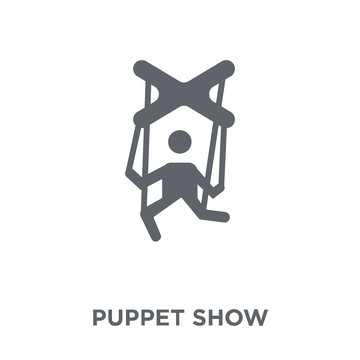 Puppet show icon from Entertainment collection.