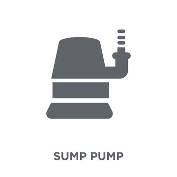Sump Pump icon from Furniture and household collection.