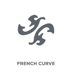 French curve icon from Sew collection.