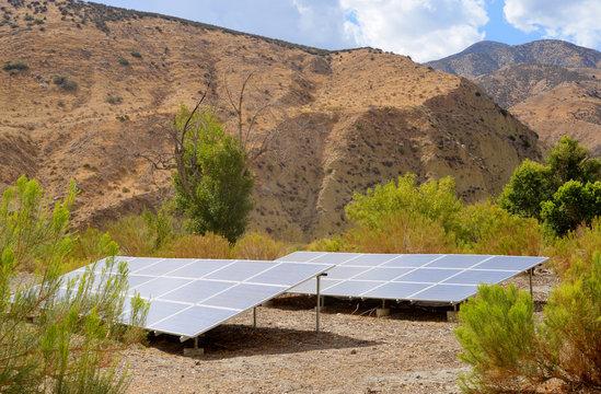 Solar energy in the desert