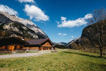 Karwendel mountains in Austria