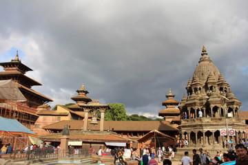 The impressive architecture of Patan Durbar Square
