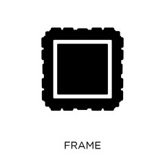 Frame icon. Frame symbol design from Museum collection.