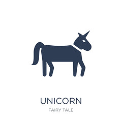 Unicorn icon. Trendy flat vector Unicorn icon on white background from Fairy Tale collection