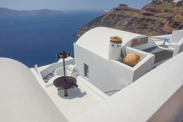 Charming views of Santorini