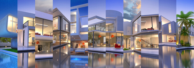 Luxury villas collections