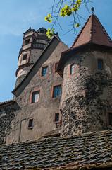 Burg Ronneburg im Sonnenschein