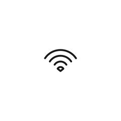 thin line wifi icon