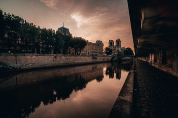 Paris Sunrise River