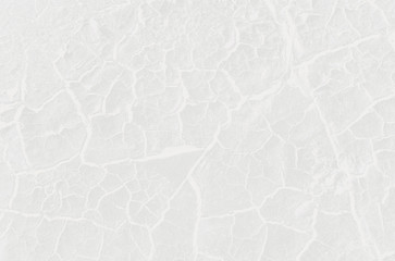 White abstract background. Pattern of cracks and scratches.