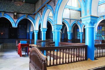 Synagogue La ghriba on the island of Djerba. Tunisia