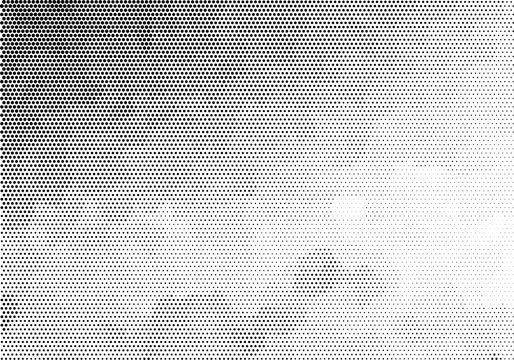 Black spotted halftone background. Vector modern background for posters, brochures, sites, web, cards, interior design