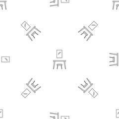 Table mirror pattern seamless vector repeat geometric for any web design