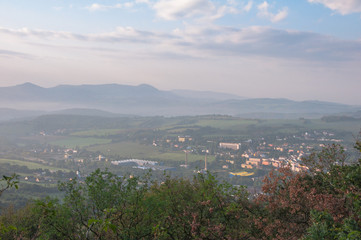 Central Bohemian Uplands - view from Dubravska hora
