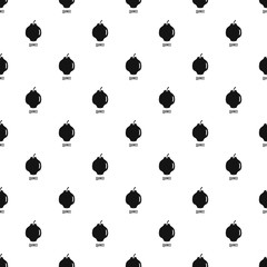 Quince pattern seamless vector repeat geometric for any web design