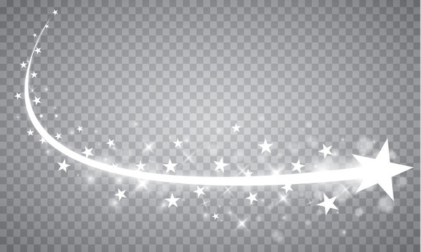 Abstract Falling Star