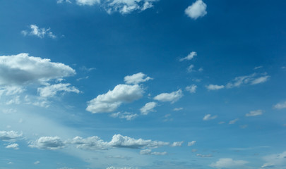 Sky, white clouds
