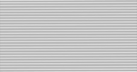 black horizontal stripes pattern, seamless texture vector background.