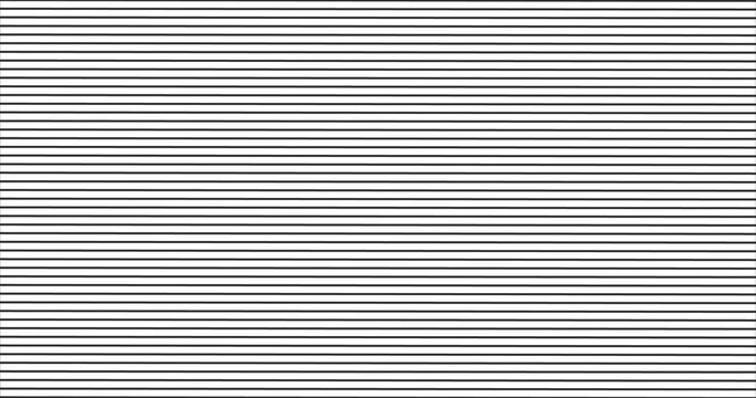 black horizontal stripes pattern, seamless texture vector background.