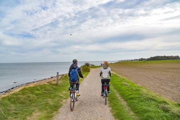 Radfahren auf der Nordseeinsel Amrum