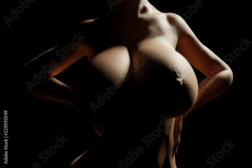 Pussy Glamor Best Silhouette Breasts Nude