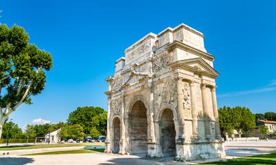 The Triumphal Arch of Orange, France