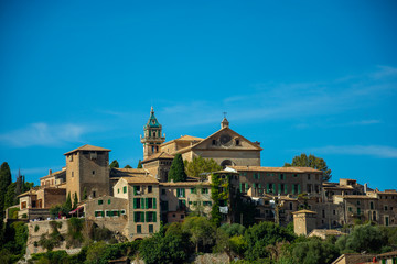Valldemossa, Mallorca, Reisen, Stadt, Berge, Urlaub