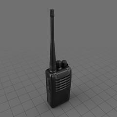 Modern handheld two way radio