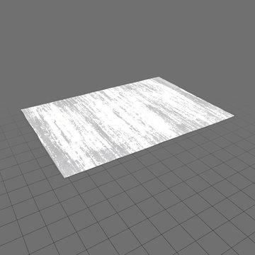 Textured rug