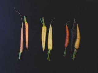 Carrots multi colored
