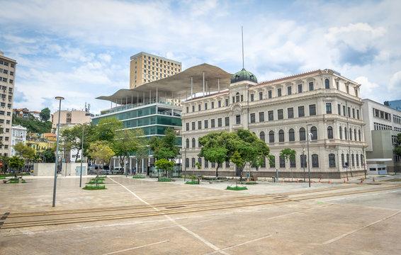 Rio Museum of Art - Museu de Arte do Rio (MAR) at Maua Square -  Rio de Janeiro, Brazil