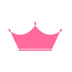 Princess Crown Icon. Vector Illustration.