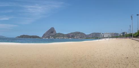 Panoramic view of Aterro do Flamengo beach and Sugar Loaf Mountain - Rio de Janeiro, Brazil