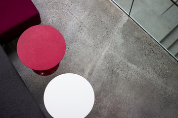 Picture of a floor and furniture in a university in the Faroe Islands
