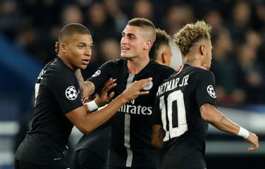 Champions League - Group Stage - Group C - Paris St Germain v Napoli